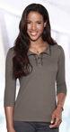 Ladies Three Quarter Sleeve Cocktail Blouse (Discontinued may NOT be returned or exchanged)