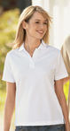 Ladies Bamboo Pique Polo
