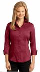 Ladies No-Iron Three Quarter Sleeve Blouse