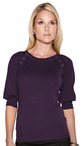 Ladies Scoop Neck Sweater