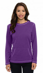 Ladies Server Long Sleeve Crew Neck Shirt