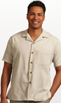 Men's MicroCheck Housekeeping Shirt