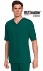 Men's Grey's Anatomy&#0153 V-Neck Scrub Top