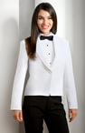 Ladies One Button Shawl Eton Jacket