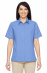 Ladies Snap Button Stain Release Server Shirt