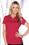 Ladies Cocktail Jersey Knit Polo Blouse