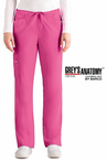 Junior Grey's Anatomy&#0153 5-Pocket Mid Rise Elastic Back Scrub Pant