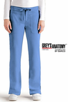 Junior Grey's Anatomy&#0153 3-Pocket Low Rise Elastic Back Cargo Scrub Pant