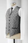 Men's Jacquard Paisley Vest