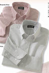 Men's Long Sleeve Oxford Shirt (Colors)
