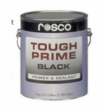 Rosco Tough Prime Paint Black 5 Gallon Primer