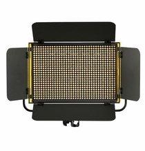 Ikan Onyx Half x 1 Bi-Color 3200K-5600K Aluminum LED Light with Dual DV Batteries