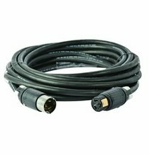 Lex 50 Amp 125/250VAC California Style Locking Extension Cable 25ft