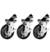 Modern Studio Steadi-Cam Stand Wheels / Casters Set of 3