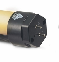 Quasar 4ft CrossFade LED Tube End Cap w/ Pins Connector Part