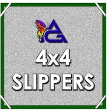 4'x4' SLIPPER / Half Soft Frost w/ Pouch