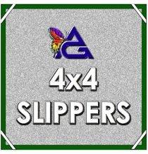 4'x4' SLIPPER / Silver Lamae Reflector w/ Pouch