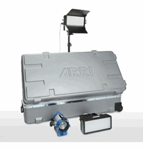 Arri H-1 Plus Hybrid LED / Tungsten AC Kit with Wheels, LK.0005565