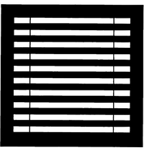 "Chimera Horizontal Blinds Micro Window Pattern 16""x16""   5325"