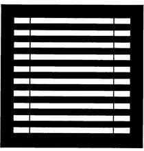 """Chimera Horizontal Blinds Window Pattern  22""""x22""""  5320"""
