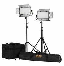Ikan Rayden Half x 1 BiColor LED 2 Light Kit