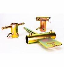 "Modern Studio Pipe Boom Kit w/ Baby & Jr. Adapters for 1 1/2"" Pipe"