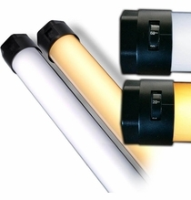 Quasar Tubes Q-LED X CrossFade Linear Lamp 1ft Bulb T12 120VAC