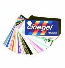 """Rosco Cinegel Swatchbook 3""""x6"""" Lighting Gels"""