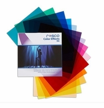 """Rosco Color Effects Party Lighting Gel Filter Pack (15) Sheets 12""""x12"""""""