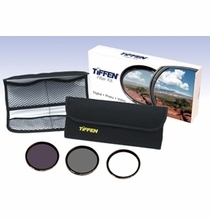 Tiffen 52mm Digital Essentials Filter Kit, UV, Polarizer, ND, 52DIGEK3