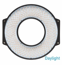 F&V Daylight LED Ring Light with Lens Mount and Carrying Case