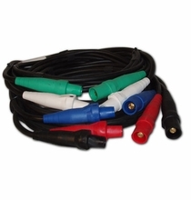 #4 SC 5 Wire Banded Feeder Cable Set 25'