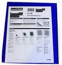 "Assorted Gels 10""x12""  T1-78   5 Pack"