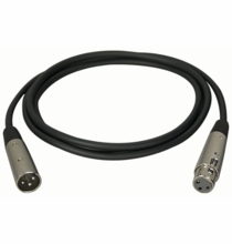 Audio Cable Premium Quality XLM-XLF SERIES XLR Male-XLR Female  10 ft.