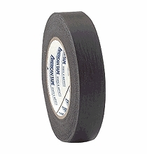 "Black Crepe Paper Tape 1"" x 60 yds  Pro46"