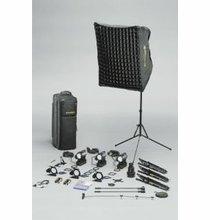 Dedolight S3S Standard Hustler Kit , 4 Light Kit,  S3SU