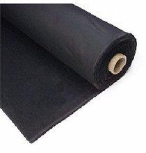 Duveytne 16oz Black Commando Cloth Fabric Roll 50 yard x 54 inch