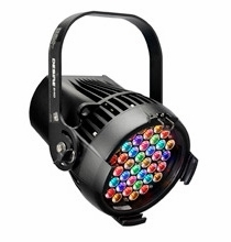 ETC Desire D40 Lustr+ LED Par Light, BLACK