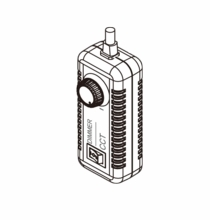 F&V  Wired Remote Dimmer for K4000, K4000S LED