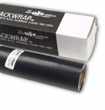 "GAM BlackWrap 12"" x 50ft Black Aluminum Foil"