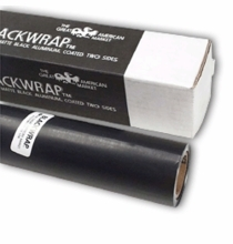 "GAM BlackWrap 24"" x 25ft Black Aluminum Foil"