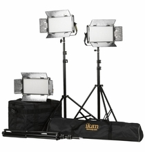 Ikan Rayden Half X 1 BiColor LED 3 Light Kit