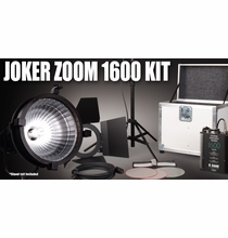 Joker 1600W Zoom HMI Light Kit