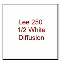 Lee 250 1/2 White Diffusion Gel Filter Sheet