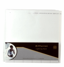 "LEE Lighting Gel Pack ""Diffusion"" 12 Sheets/Pack"