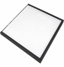 "LitePad Axiom 12""x12"" Daylight 6000K LED Light w/120V Pwr Supply"