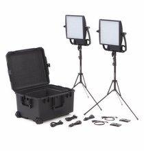 LitePanels Astra 3X BiColor Duo Traveler Light Kit V-Mount