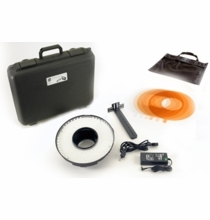 LED Ringlite Mini Daylight 5600K Spot Camera Light Kit
