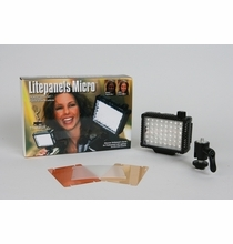 Micro LED On-Camera Light Package 719821301677