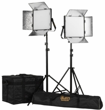 Lyra 1x1 BiColor  2-Point Soft Panel LED Light Kit